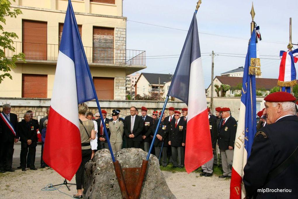Photos retransmises par Michel Brocheriou Secrétaire-trésorier UNC Groupe Jura-section Salins les Bains