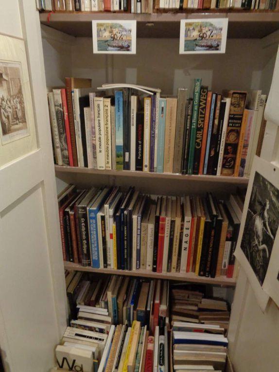 Il reste encore beaucoup d'ouvrages... art, littérature, histoire, ethnologie
