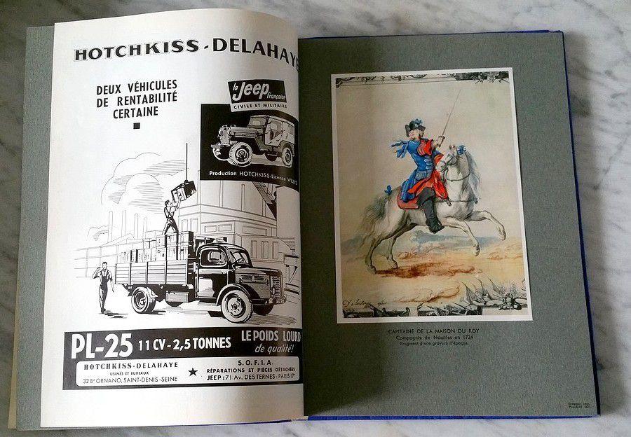 Forces Armees Francaise - Programmes des Nuits de l'Armée 1955.