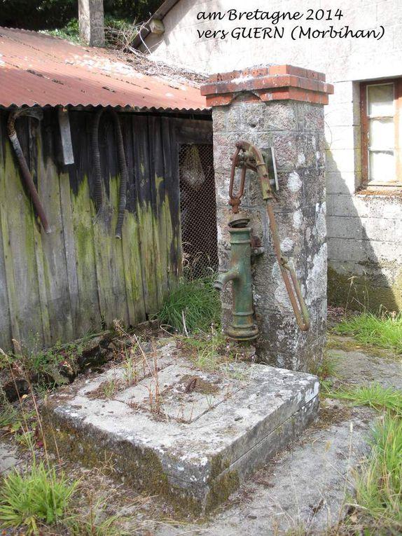 Album... puits et lavoirs, fontaines et villages...