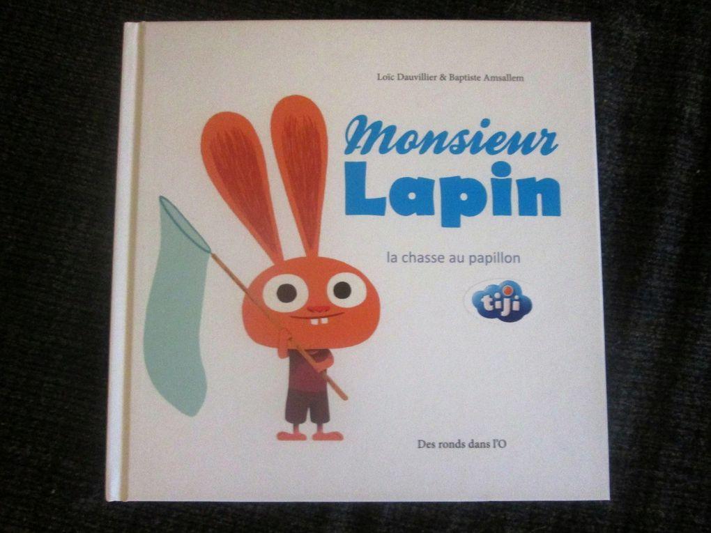 Quelques images du livre Monsieur Lapin
