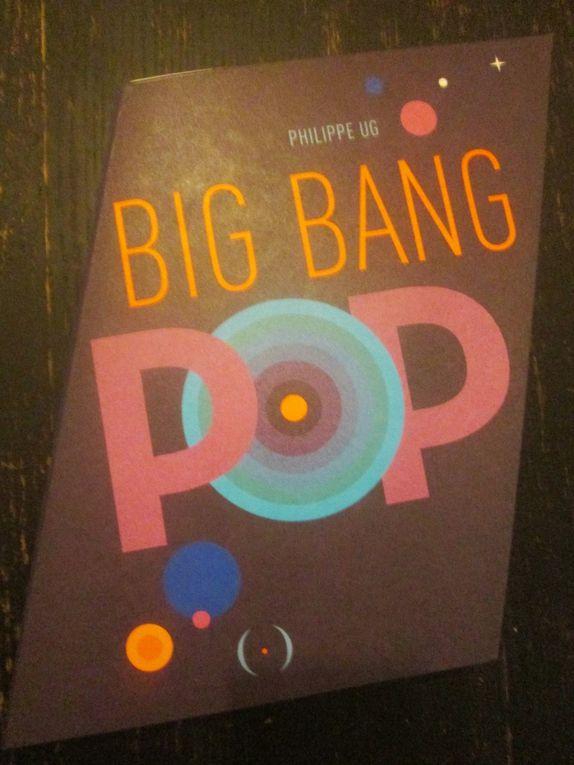 Quelques photos du livre Big Bang Pop