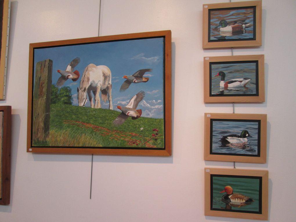 Exposition Photos, sculptures et peintures