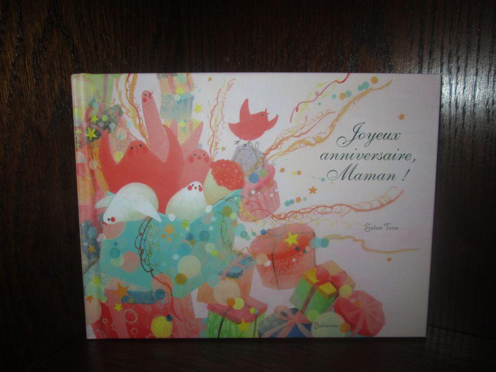 Quelques illustrations du livre Joyeux anniversaire, Maman !