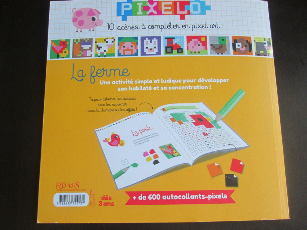Le livre La Ferme Collection Pixelo