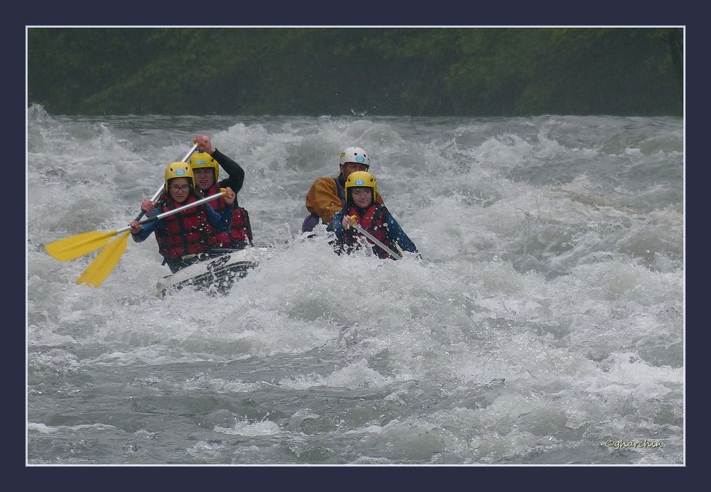 Rafting avec Margot Anouk et Thomas
