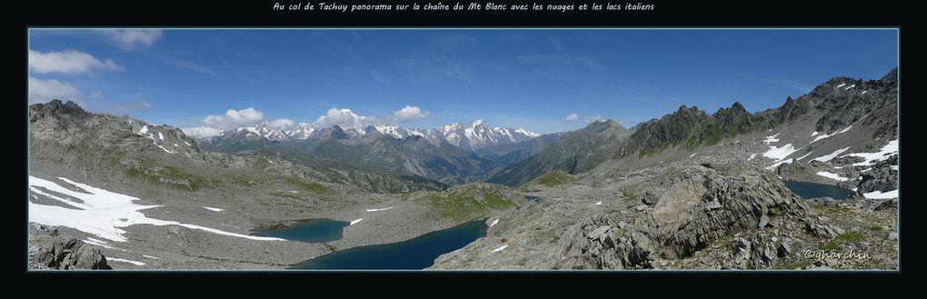 Lac Petit et col du Tachuy