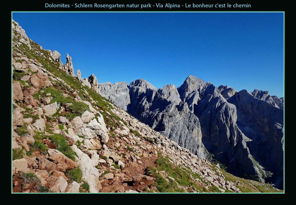 Le park nature Schtern Rosengarten et la Via Alpina