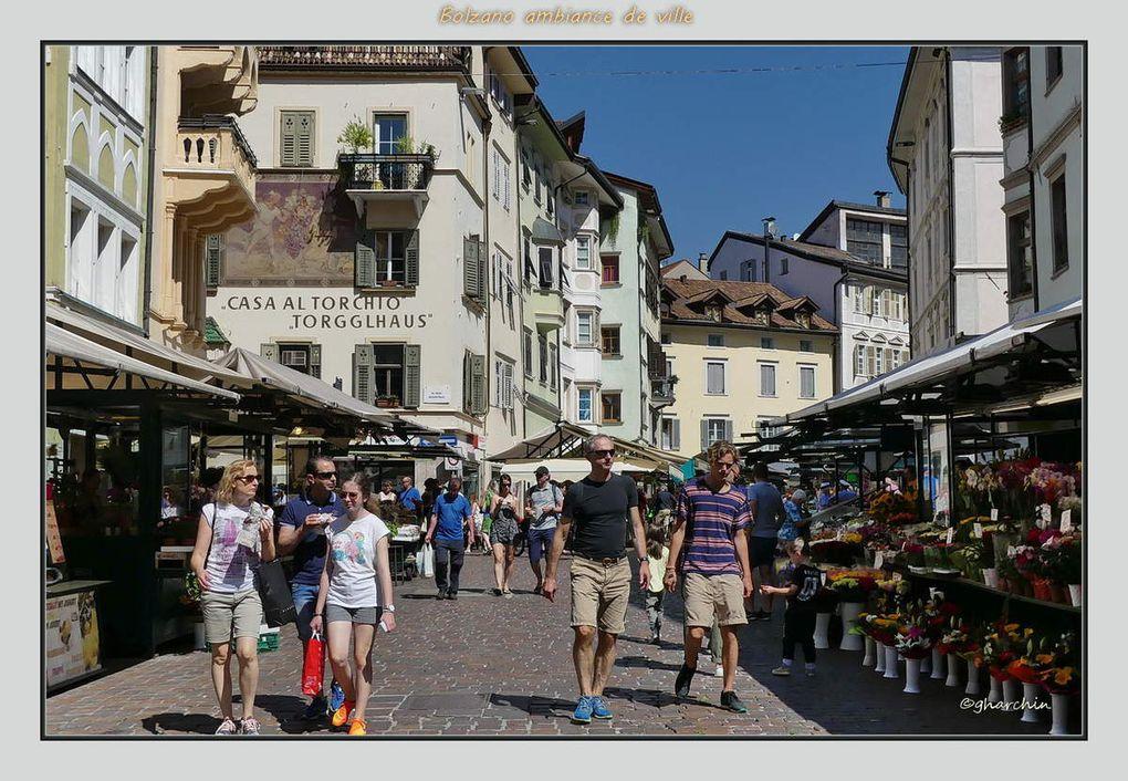 Le Renon, ses cheminées de fées et un peu de Bolzano