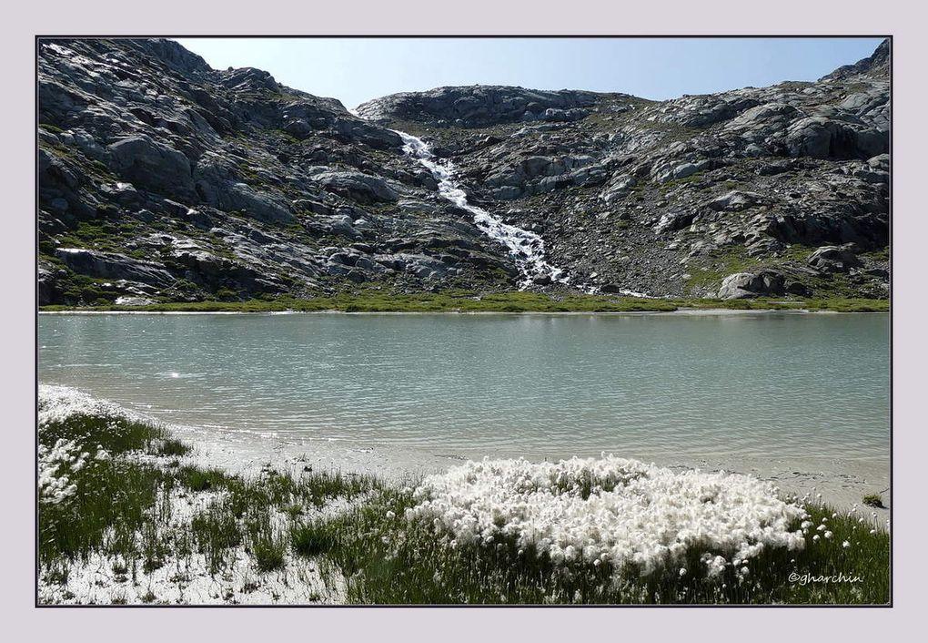 La boucle des lacs Gris et Vert, descente le long du torrent en cascade du Ruitor