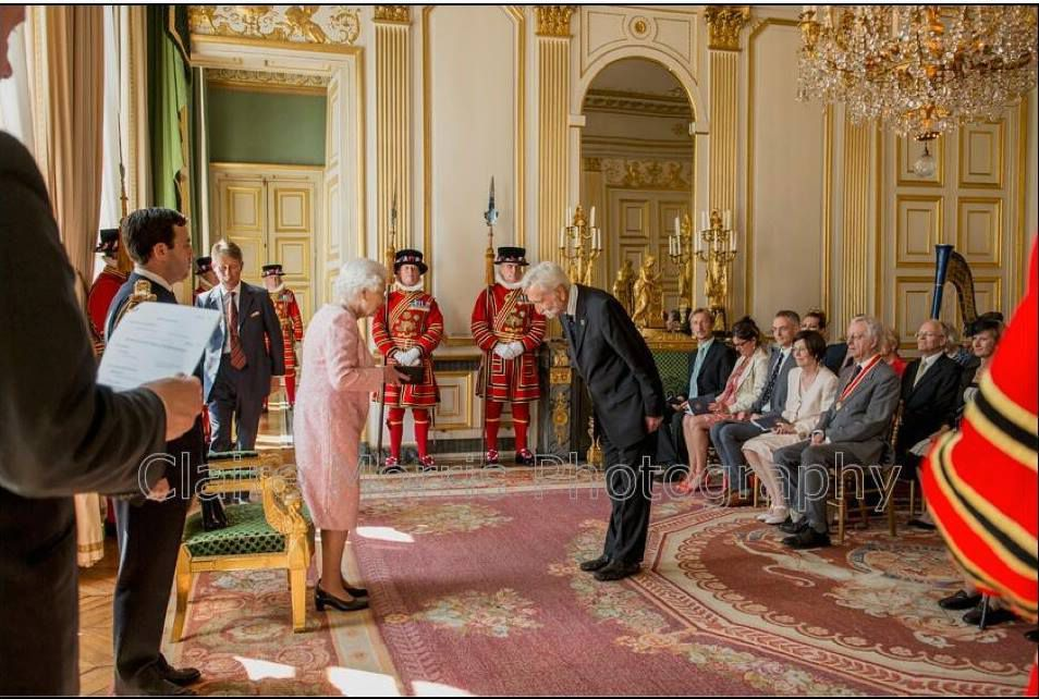 Playing for HR the Queen Elizabeth II, 2014 in Paris