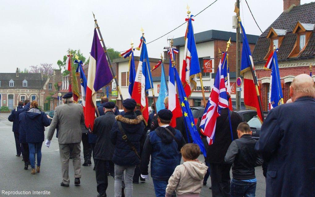 Manifestation patriotique du 8 mai 2017