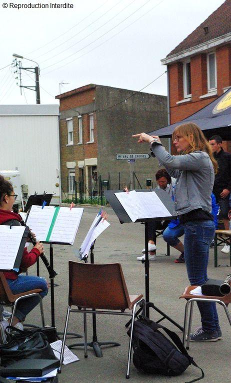 Fête du village et fête de la musique à Zuytpeene