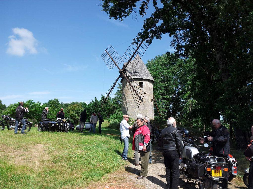Colayrac via Colayrac par ste Colombe /Serignac/Le port /Preyssas/Lusignan Petit /Moulin de Sabre-Cul Maurignac/Colayrac