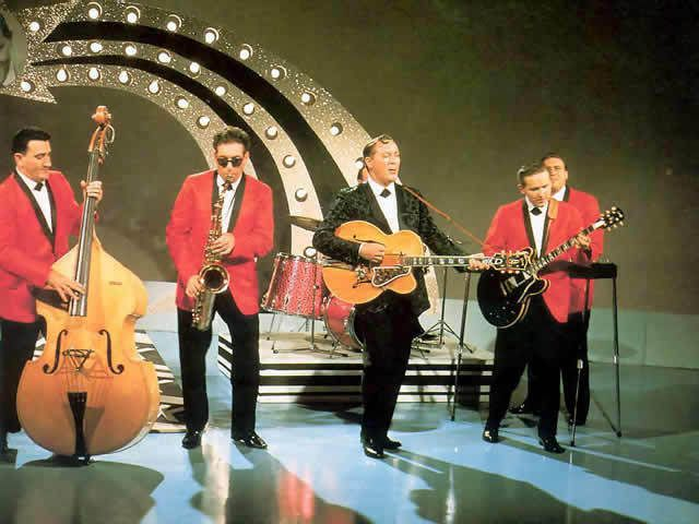Elvis Presley et Bill Haley and The Comets