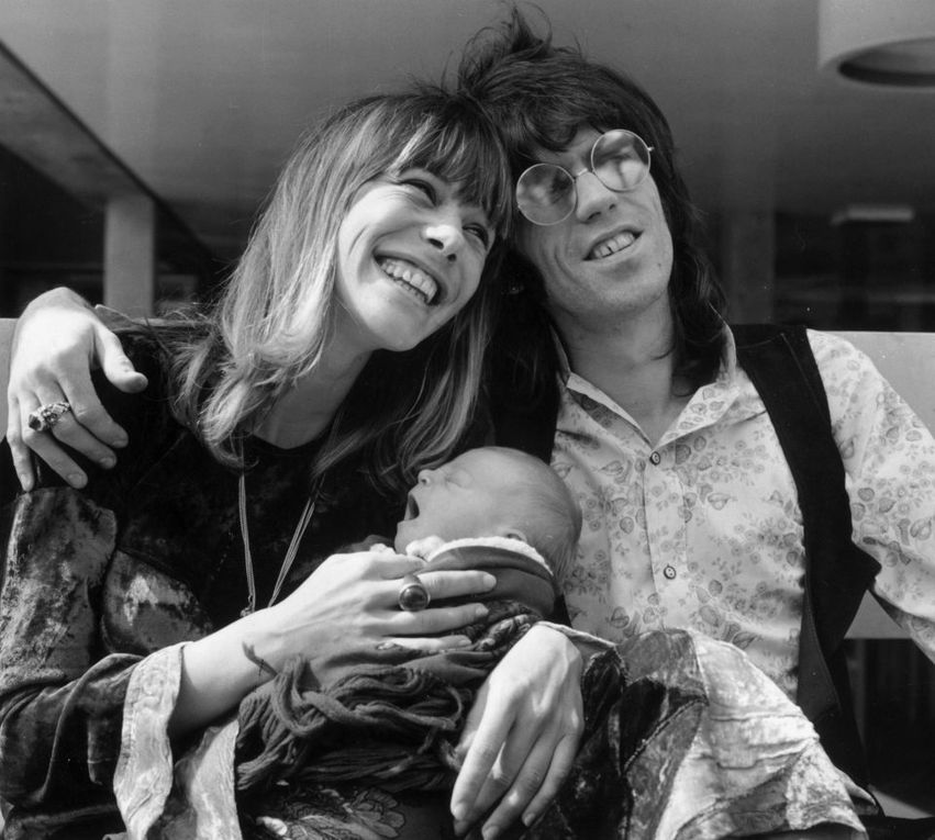 THE SIXTH ROLLING STONE Wild, sexy and stylish model Anita Pallenberg who turned Mick Jagger and Keith Richards into the Rolling Stones dies age 73