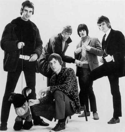 Here are The Birds, featuring Ronnie Wood, pictured in 1964 outside the Olympia Ballroom on London Street, Reading, where the band had a residency