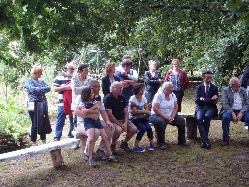 Inauguration du jardin thérapeutique le 12 septembre 2015