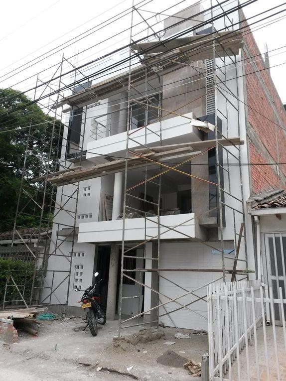 imagenes de antigua vivienda y proyecto nuevo