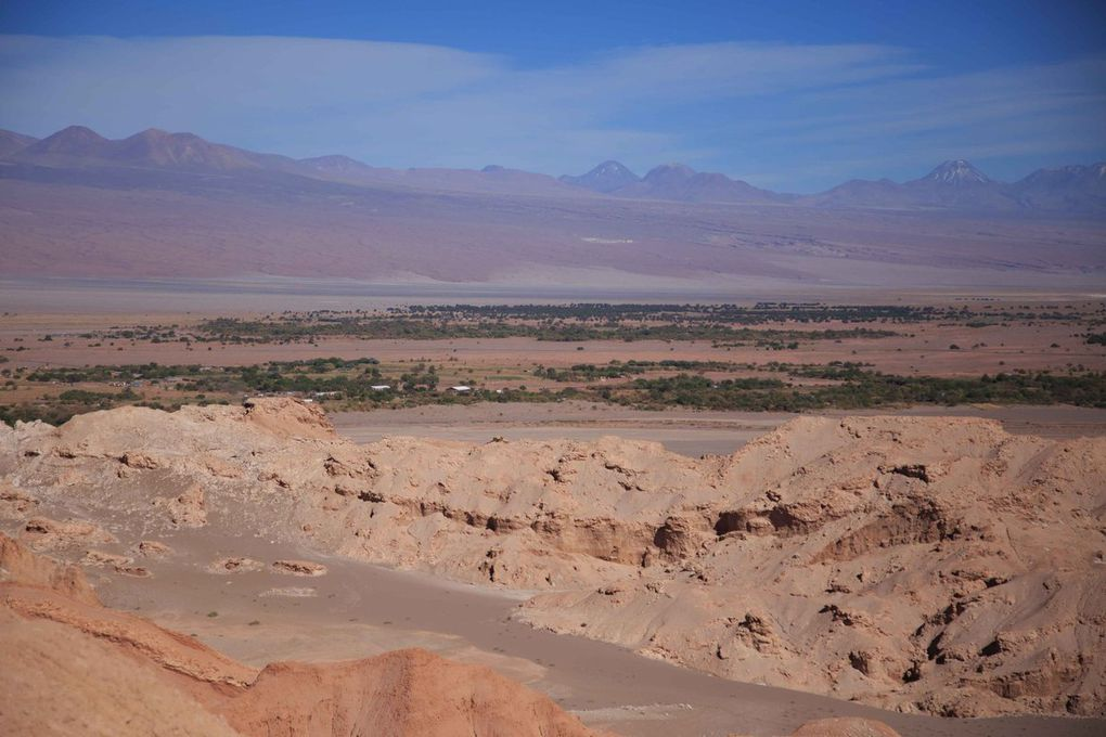 Point de vue sur la Valle de la Luna