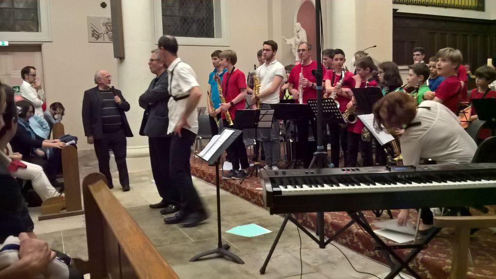 Les amis de l'orgue accueillaient dans leur église un bel éventail de saxophonistes
