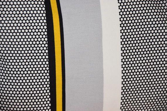 Housse de coussin 50 x 30 cm aw creations art et decoration for Salon noir blanc gris jaune