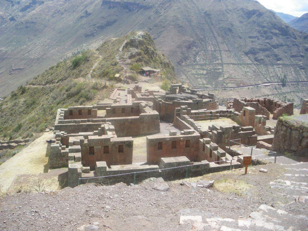 Partie centrale des ruines de Pisac.