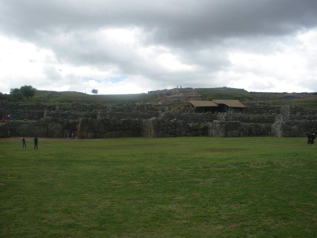 Les ruines de Saqsayhuaman.