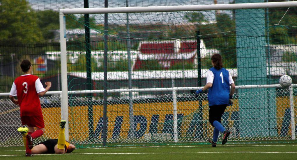 La DH de foot féminin de l'ES Guéretoise qualifiée pour les demies finales de la coupe Centre-Ouest