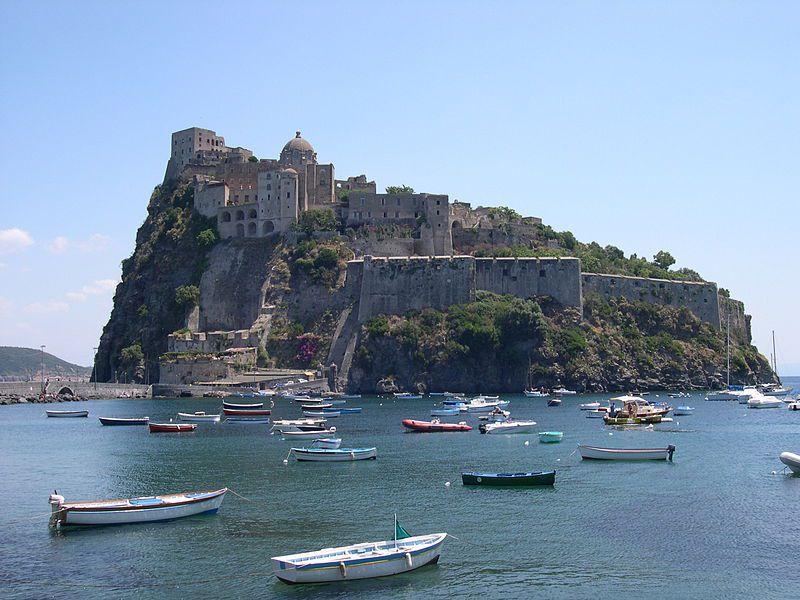 Ischia / Ischia, hôtel Mezzatorre / les thermes Poseïdon / Naples et le Vésuve