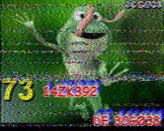 Décodage sstv avec le Brésil 3CG038