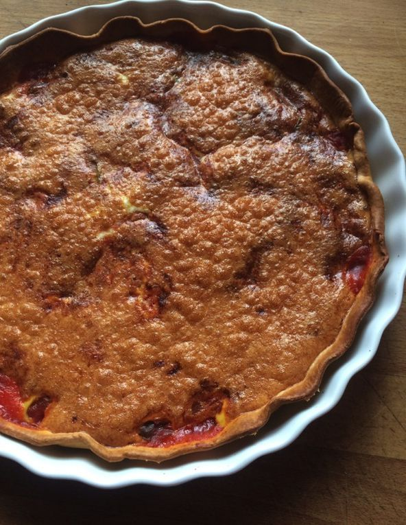 Tarte piperade