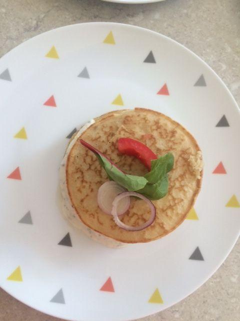 Blinis de saumon façon Burger