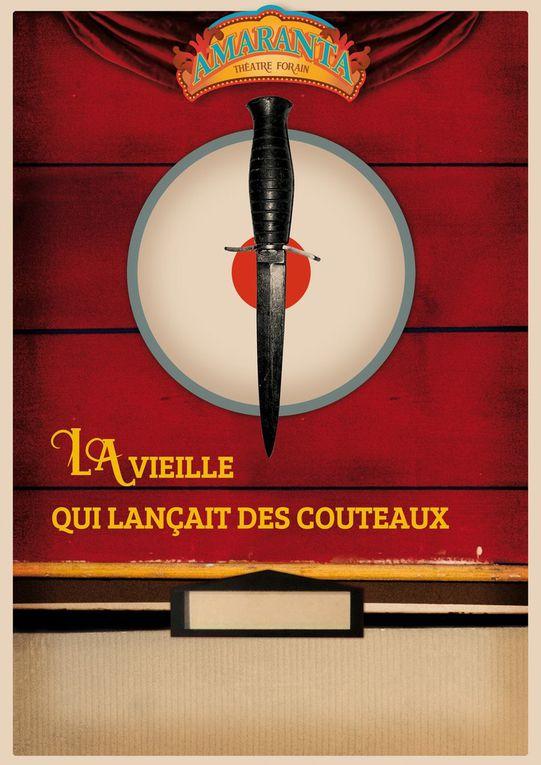 La vieille qui lançait des couteaux - 23 et 24 juin 2016 - 21h30-St Léger/Dheune