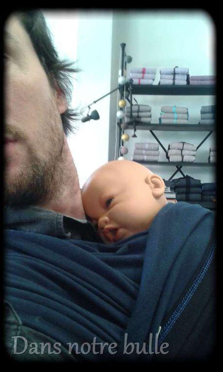 Atelier de portage avec Je porte mon bébé