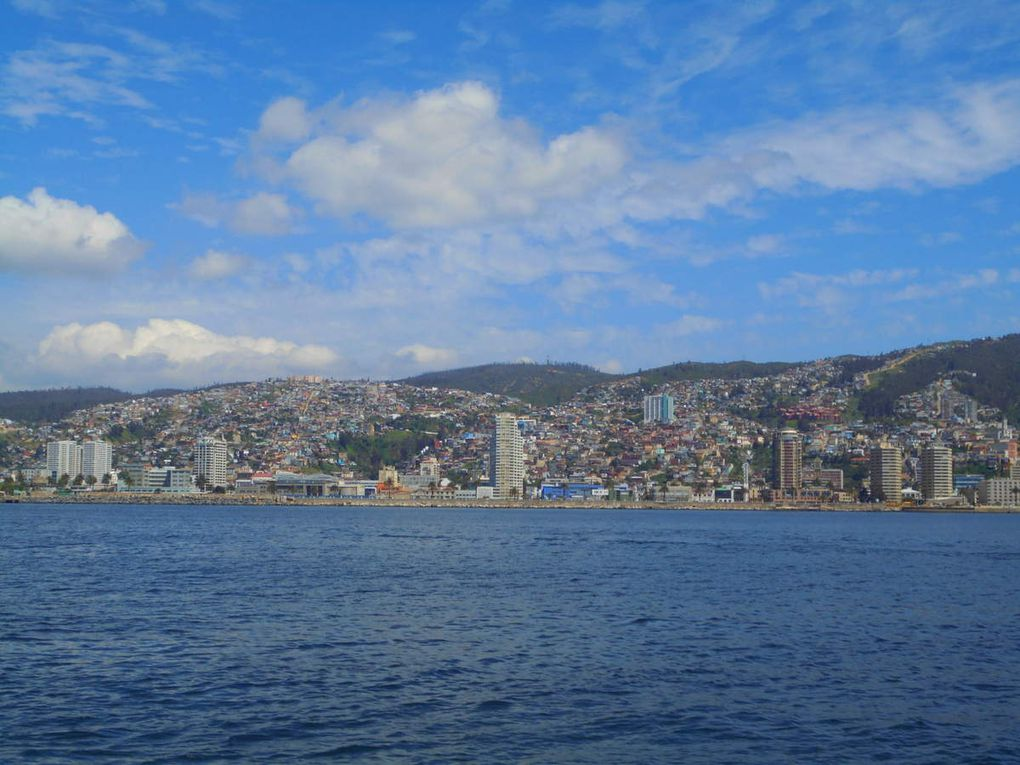 Tout en couleurs à Valparaíso!