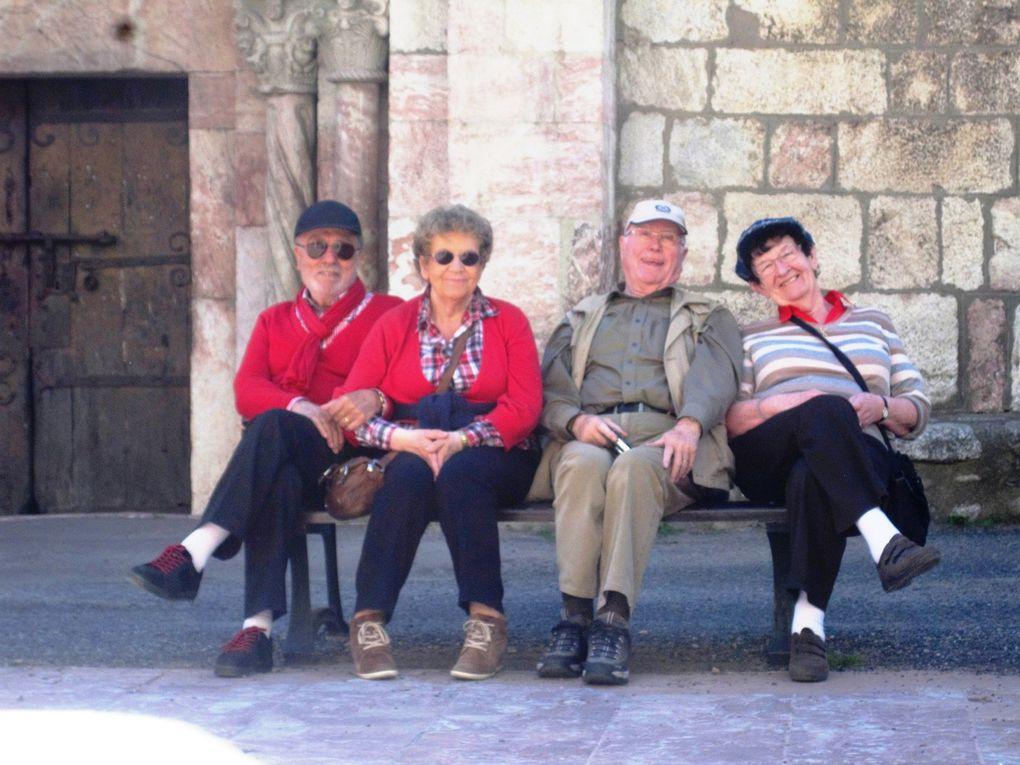 Ils prennent leur temps, quelque soit le temps, pour vivre autrement, les retraités...