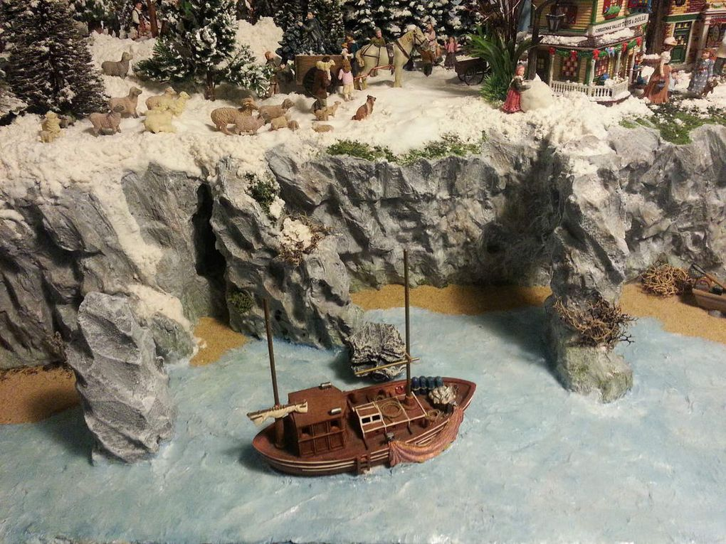 &quot&#x3B; Christmas at the Seaside &quot&#x3B; Village 2016