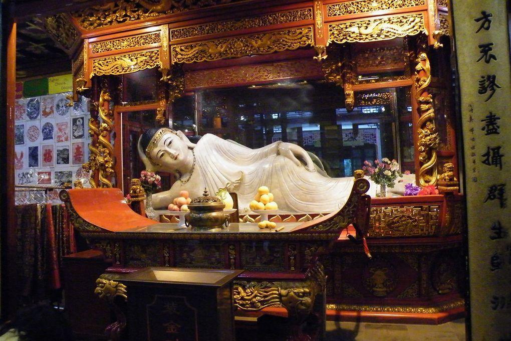 Shanghai et ses temples, le bouddha de jade blanc