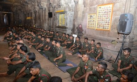 Special 'Abishekam' Pooja Blesses Army Anniversary