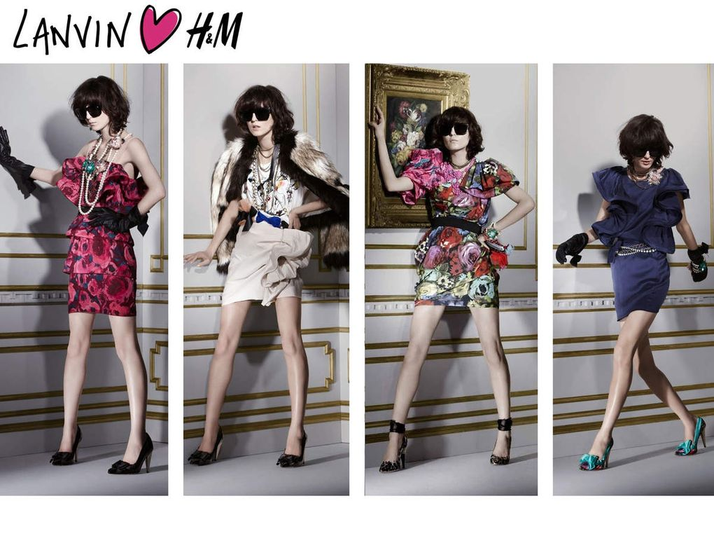LES DIFFERENTES COLLABORATIONS DE H&M