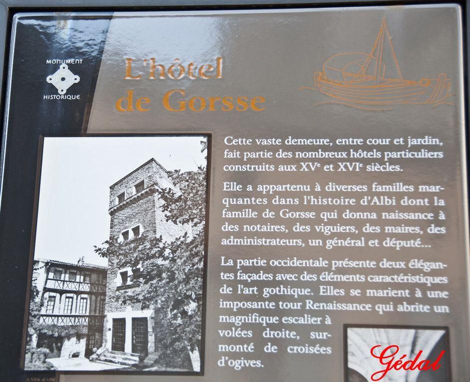 3 photos : Hôtel de Gorsse.