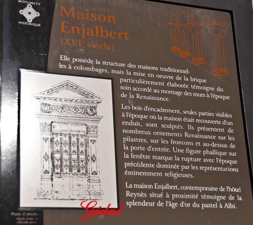 4 photos : La Maison Enjalbert.