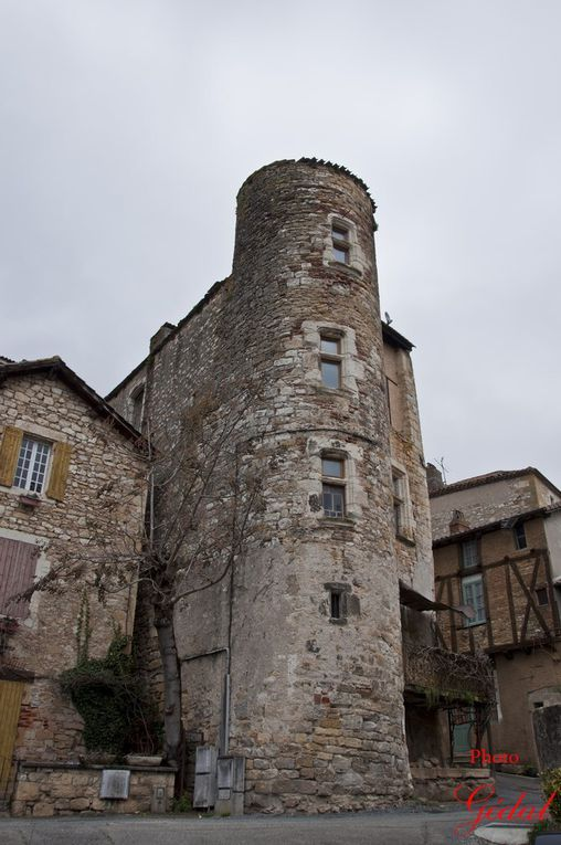 7 photos : Château Beauregard, Le ruisseau des Clédelles. Le Lot.