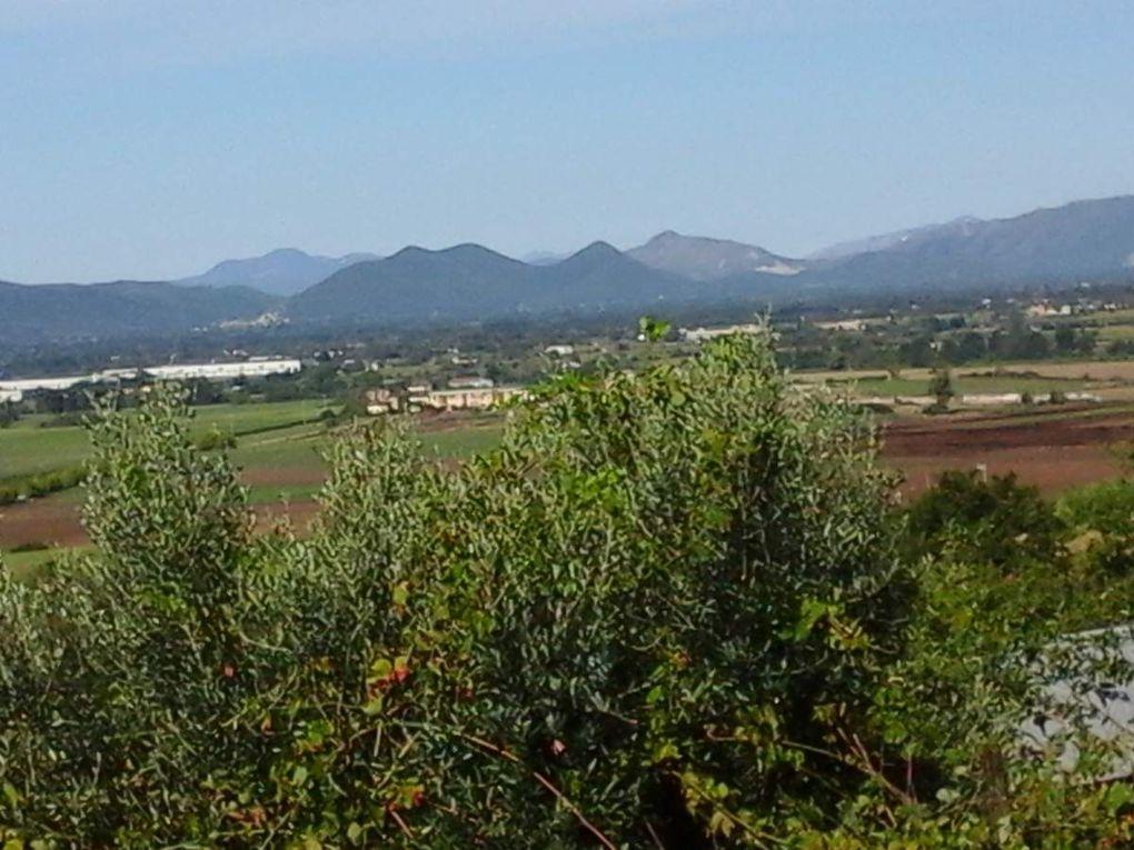 8 septembre - de Alife à  Solopaca   ( Telese )