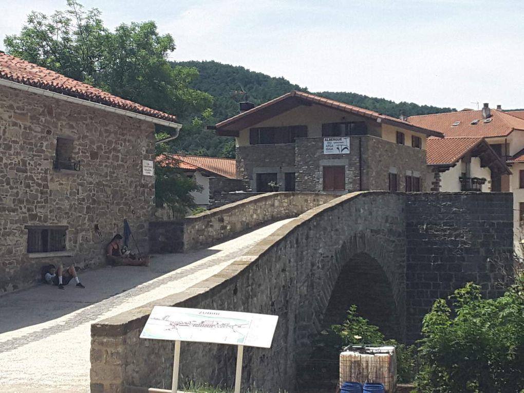 13 juin  -   Roncevaux - Zubiri     22 kms