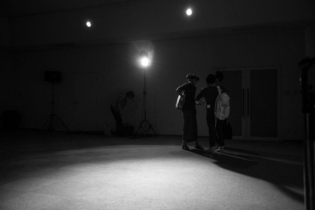 photos des premiers jours de répétition prises par Shinsuke Inoue, le musicien de tablas très sympathique !