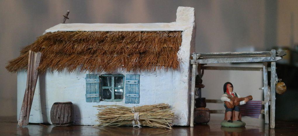 Maison de gardian avec appentis amovible