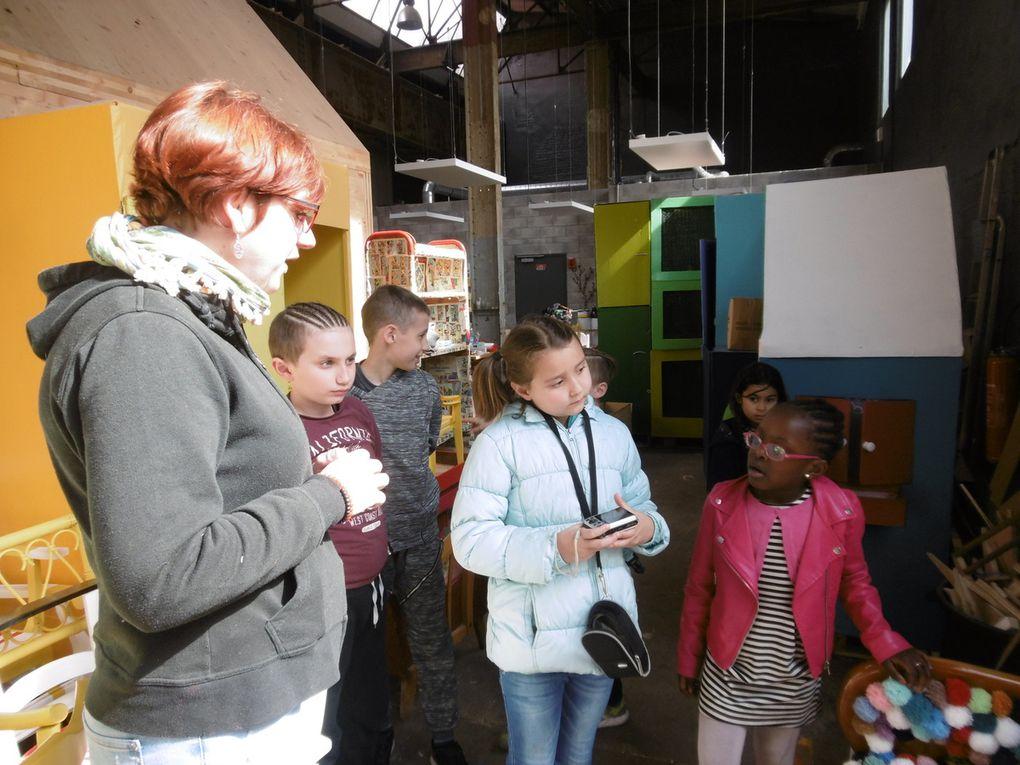 Préparation du festival des arts de la rue les Turbulentes