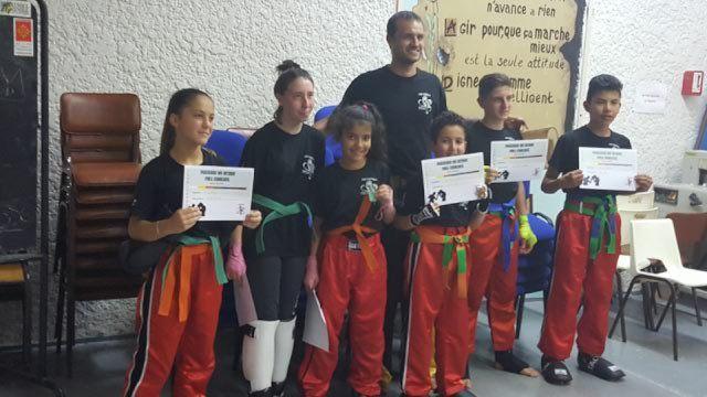 Félicitations aux fulleuses et fulleurs du Boxing Club de St Lys